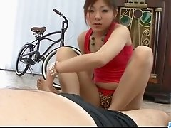 Top POV blowjob scenes along Mahiru Tsubaki
