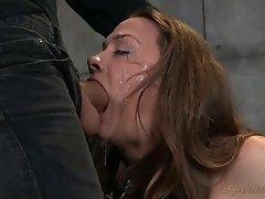 Seductive porn actress Chanel Preston is sexually disgraced