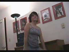 Hairy Brunette playing Pt. I