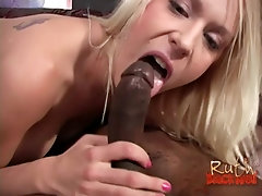 Big load of black cock can please Cindy Sterling and her friend at once