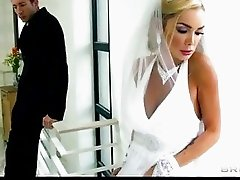 Sexy big-tit bride Devon rides a big-dick right after her wedding
