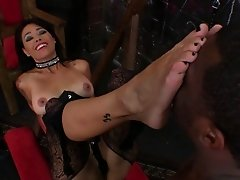 Hot and wild porn sweetheart Dana Vespoli gets fucked in nasty and hot orgasm