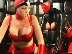 Crazy Lesbo Latex Freaks!