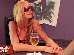 Glamcore TILF fucked in her tight asshole