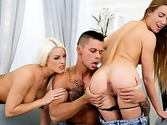 Cum Swapping Threesomes #03