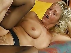 Flirty Blonde Mature Teacher Ham...