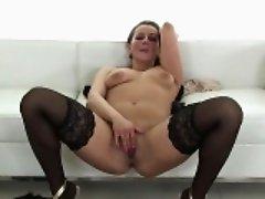Busty pornstar bondage squirt