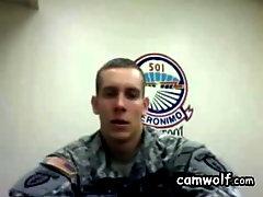 commanding amateur military soldier