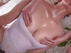 cum inside asian busty wearing fishnet stocking