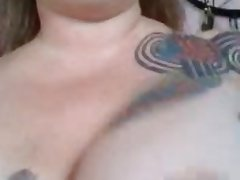 saggy tits on bbw