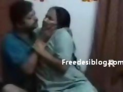 Indian Aunty Enjoy with husband