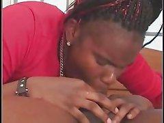 BBW BLACK GIRL GETS FUCKED